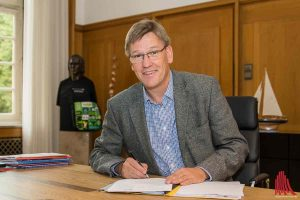 WWU-Rektor Professor Dr. Johannes Wessels ist